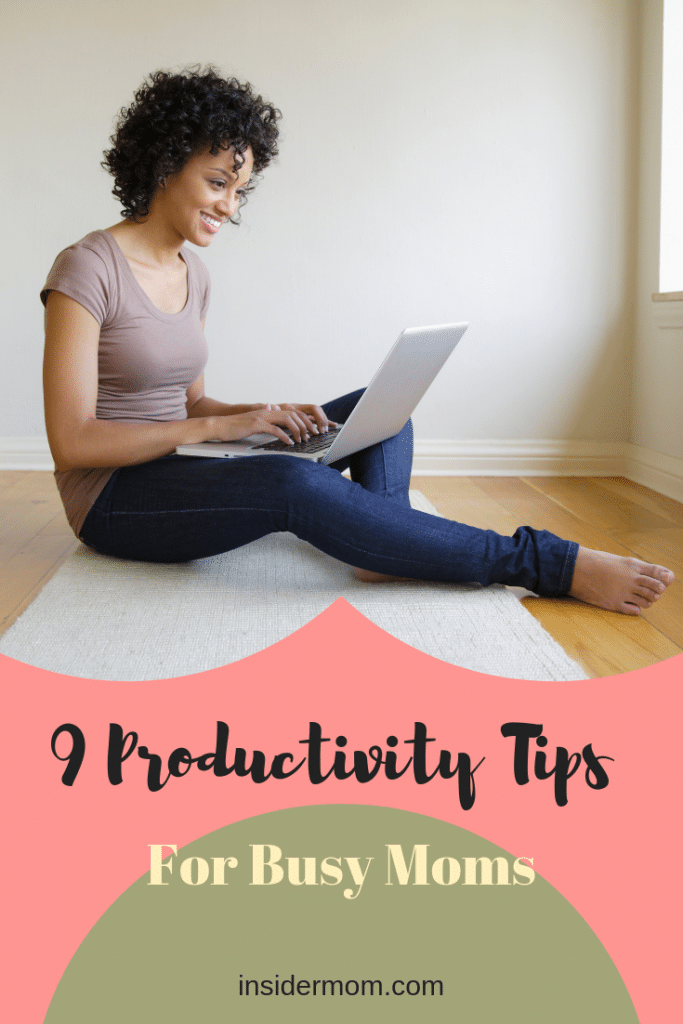 productivity for busy moms