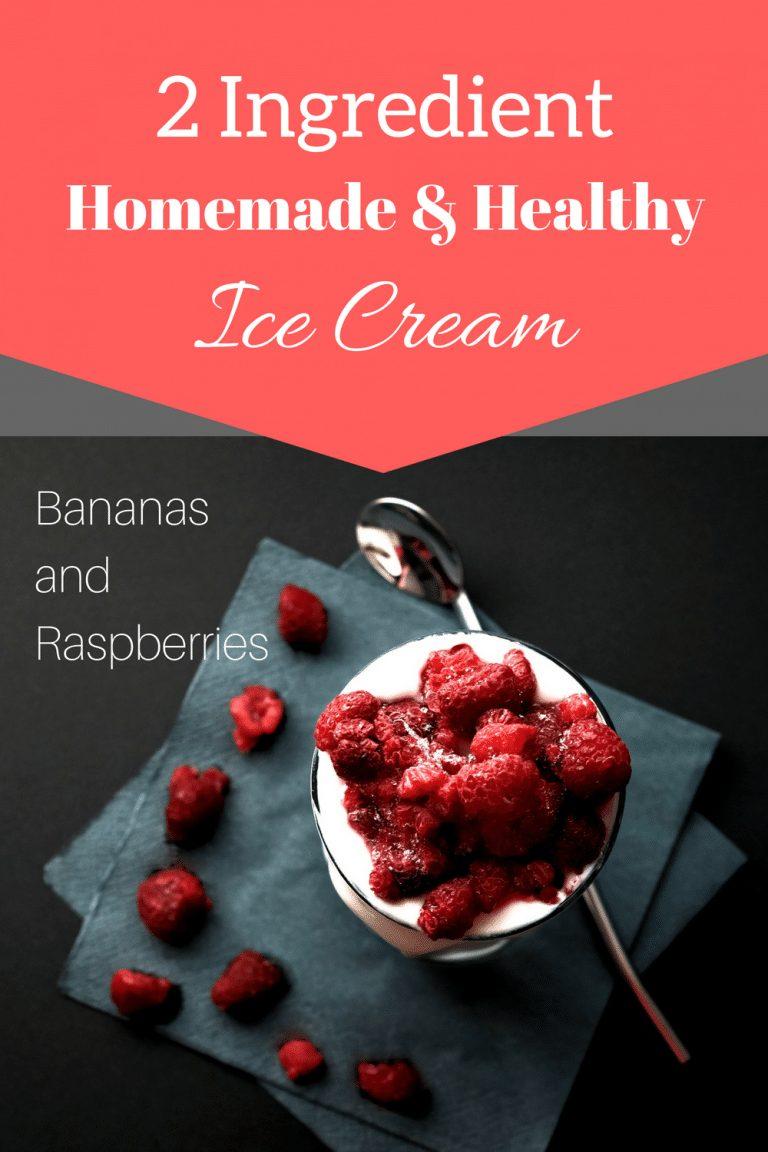 2 ingredient healthy ice cream