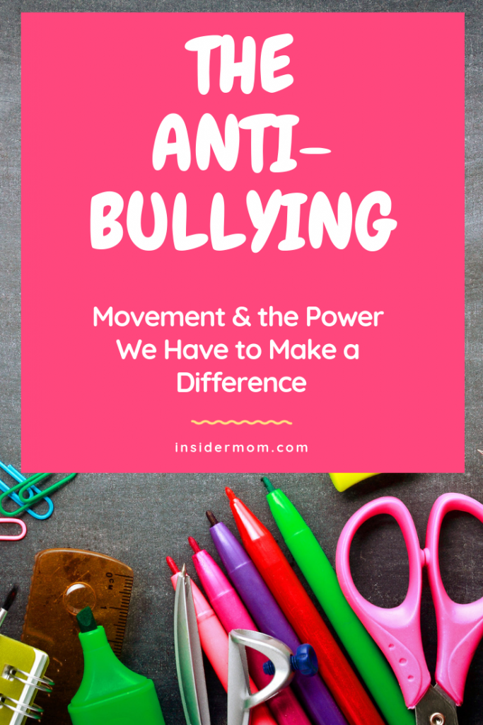Do you worry about bullying at your kid's school? Do you want to address ways to create change? Check out the post on the blog.