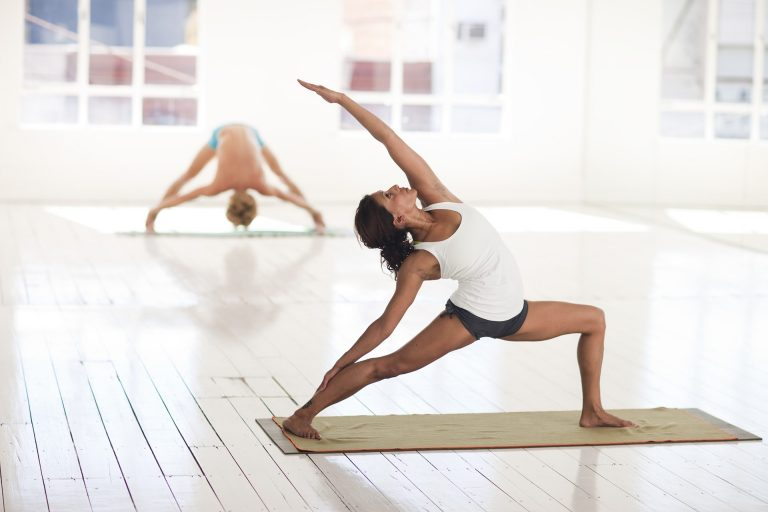 Want to know how a yoga challenge can kickstart a daily yoga practice and help you reduce stress and take better care of your body? Check out this post