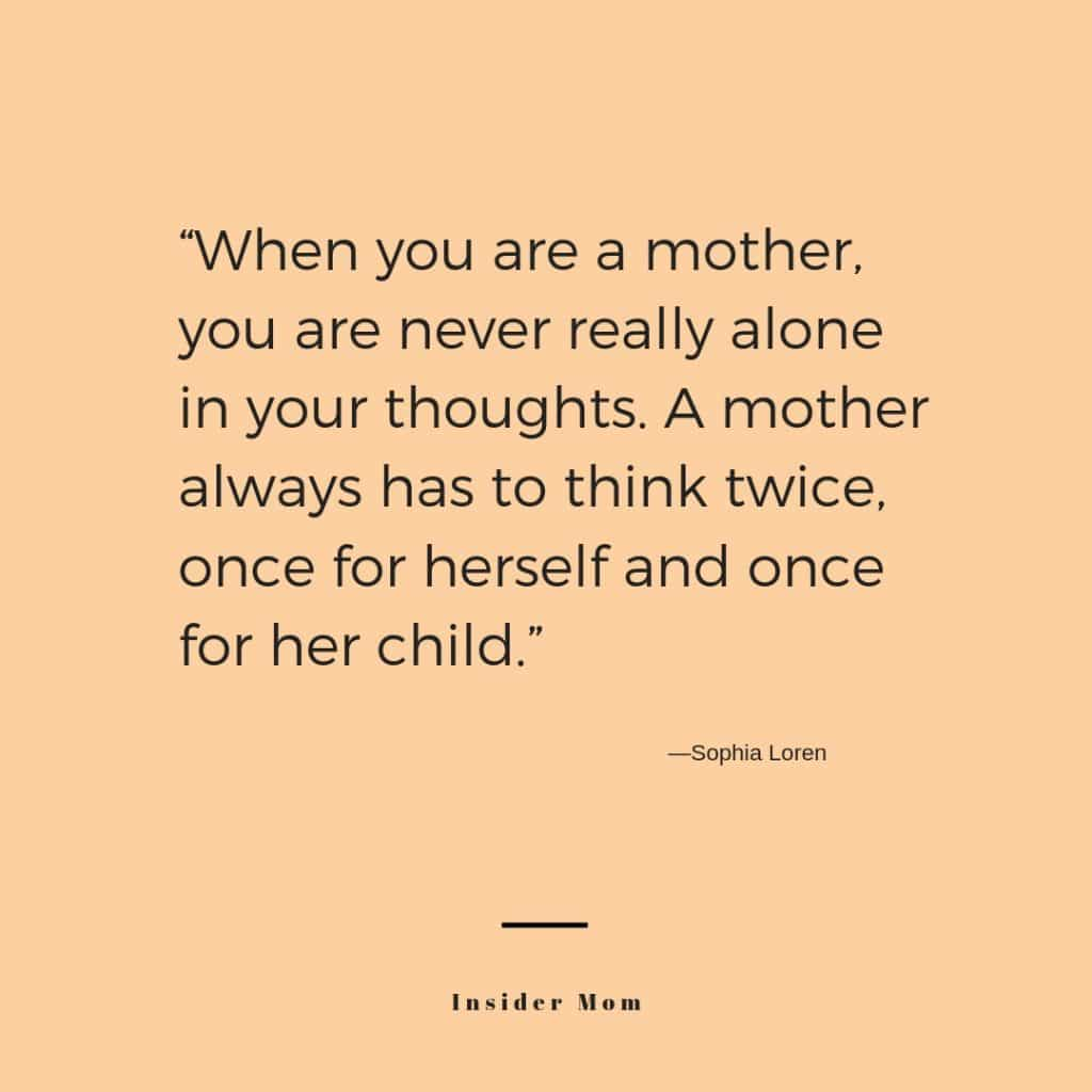 Twice or more...wouldn't you agree? ....quote via insidermom.com #parenting #quote #motherhood #momlife