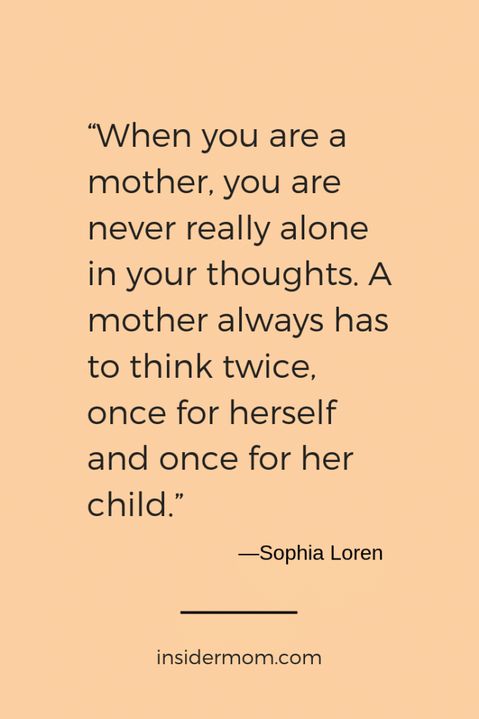Twice or more...wouldn't you agree? Via insidermom.com #quote #parenting #motherhood #momlife #mom #mother'sday #mothersday