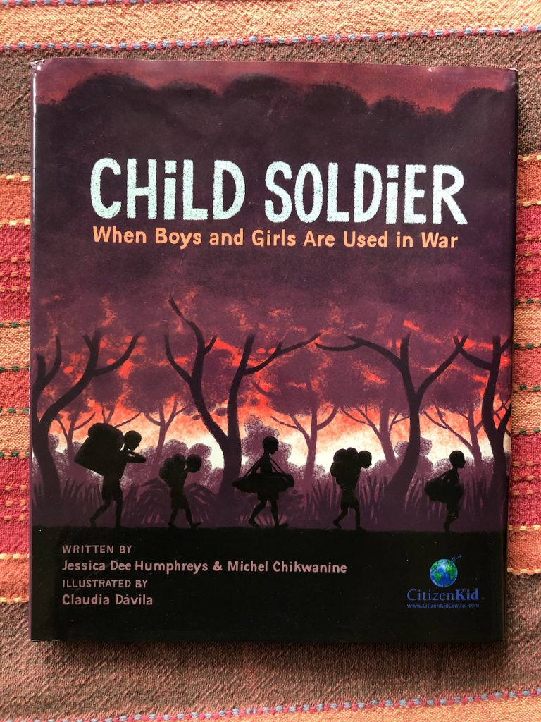 A inspiring story about a refugee and former child solider.