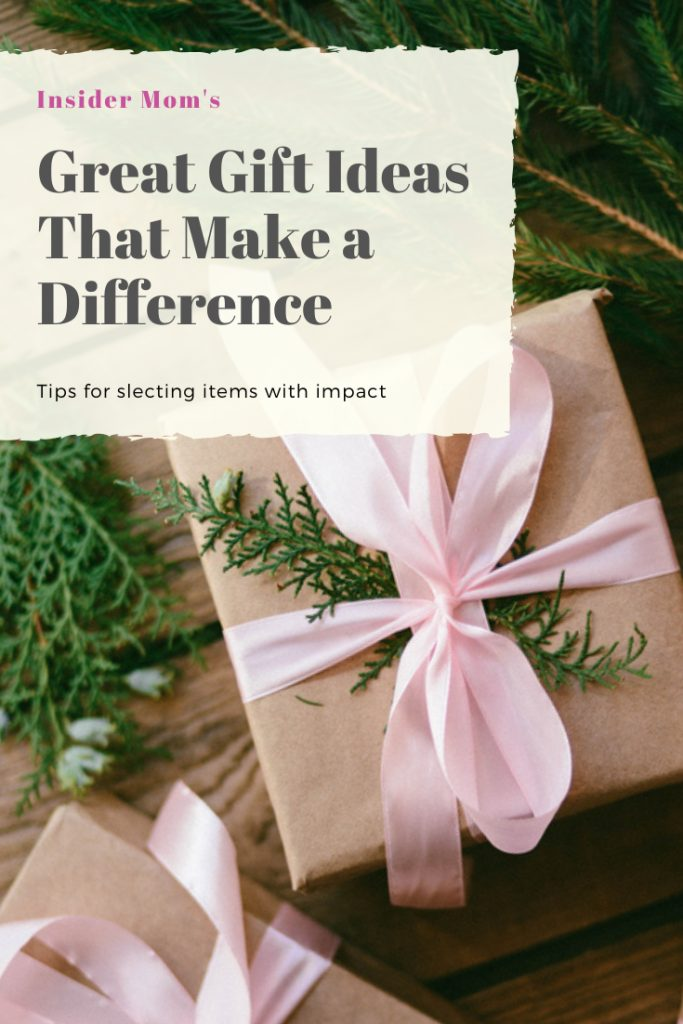 Want to know about some great gift ideas that also make a difference? Check out the post via Insider Mom #gift #giftideas #holiday #holidaygifts
