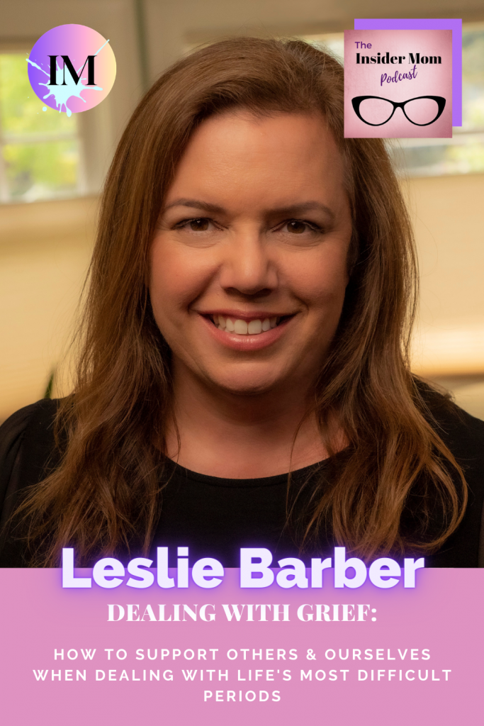 It's really difficult to know how to deal with grief...in this interview Leslier Barber, founder of Grief Warrior shares who we can help others or ourselves when we experience it.