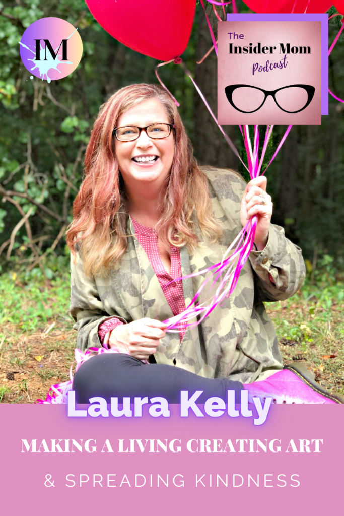 Laura Kelly shares how she started making a living through creating art. Check out this interview to learn more.