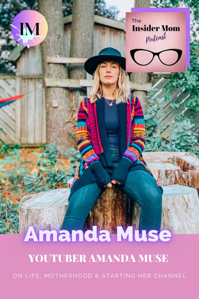 Check out this interview with YouTuber and mom Amanda Muse