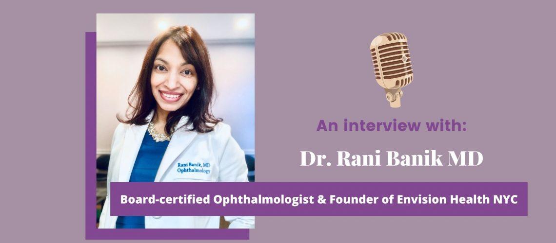 Dr. Rani Banik Post